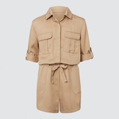 Utility Playsuit  FAWN  hi-res
