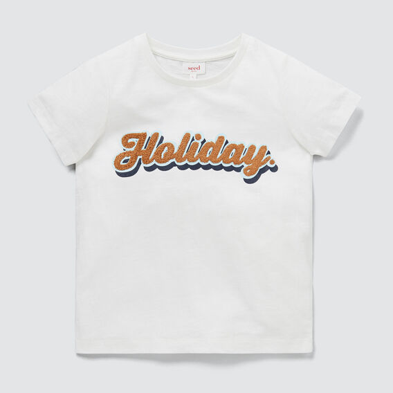 Holiday Tee  VINTAGE WHITE  hi-res