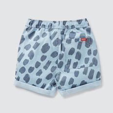 Animal Yardage Short  CHAMBRAY  hi-res