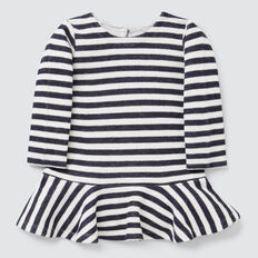 Knit Dress  NAVY/CANVAS  hi-res