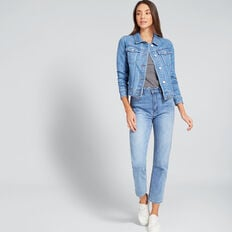 Terry Denim Jacket  CLASSIC DENIM  hi-res