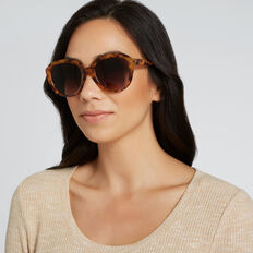 Jane D Frame Sunglasses  GOLDEN TORT  hi-res