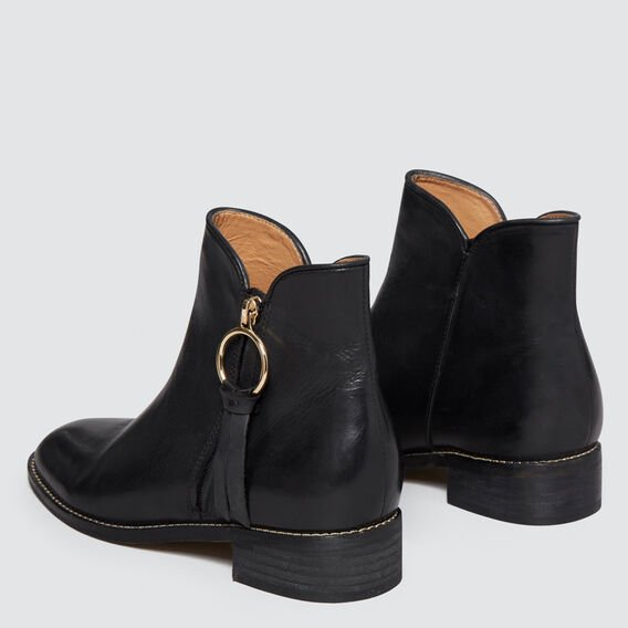 Tilly Flat Boot  BLACK  hi-res