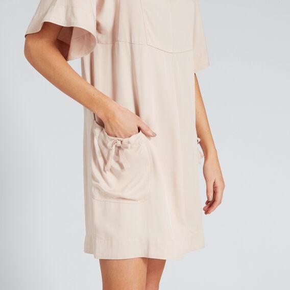 Pocket Dress  PEONY PINK  hi-res