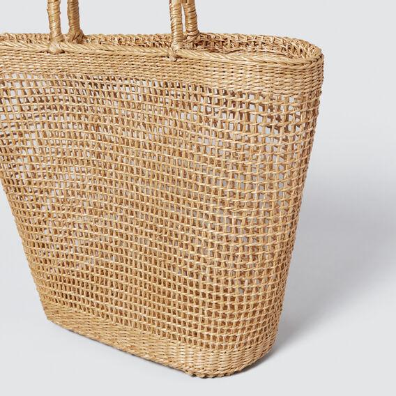 Ciara Basket Tote  NATURAL  hi-res
