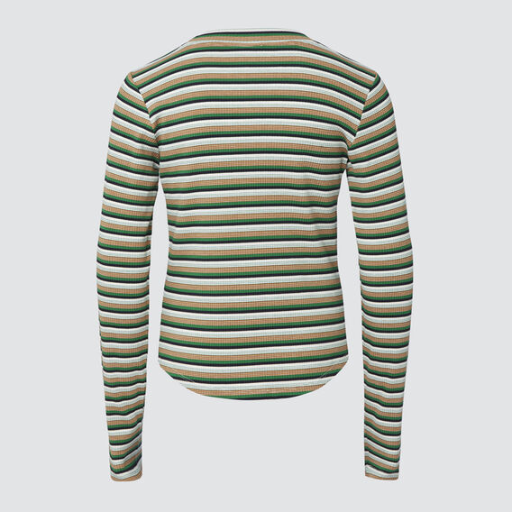 Rib Long Sleeve Tee  MULTI  hi-res