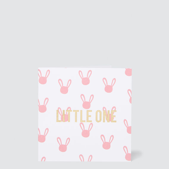 Small Little One Card  MULTI  hi-res