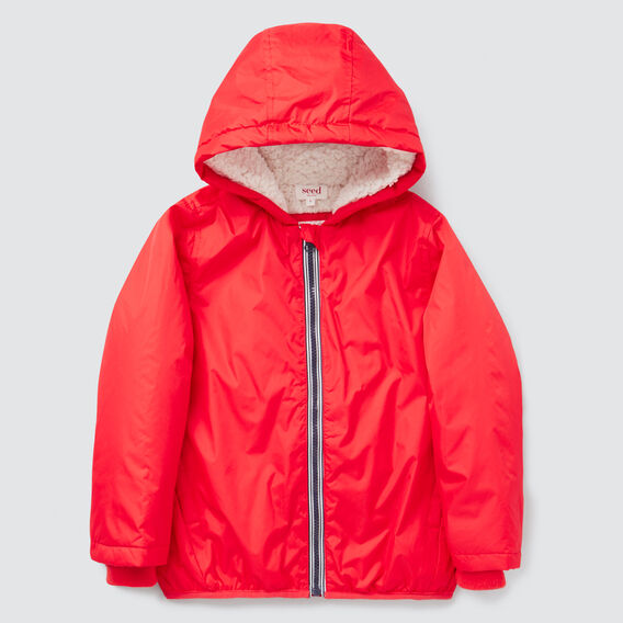 Sherpa Rain Jacket  FIRE ENGINE RED  hi-res