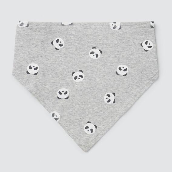 Panda Bandana Bib  BIRCH MARLE  hi-res