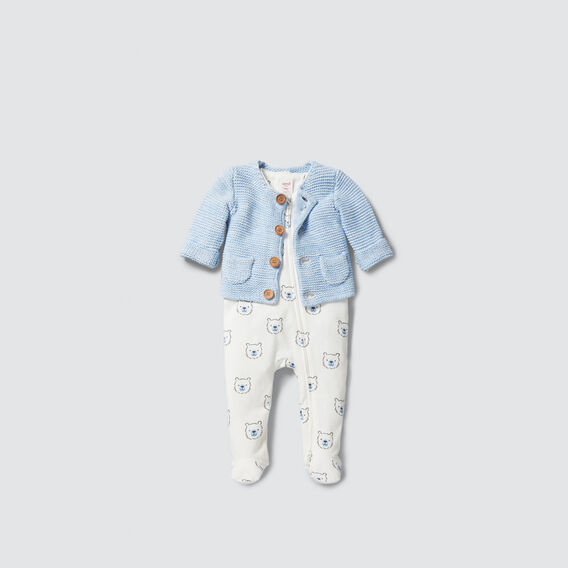 Bear Yardage Zipsuit- Available In 00000  CANVAS  hi-res