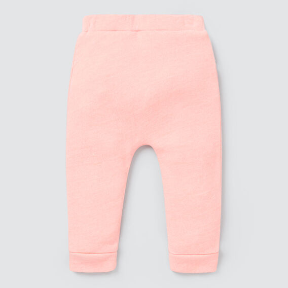 Speckle Harem Track Pant  BRIGHT PEACH  hi-res