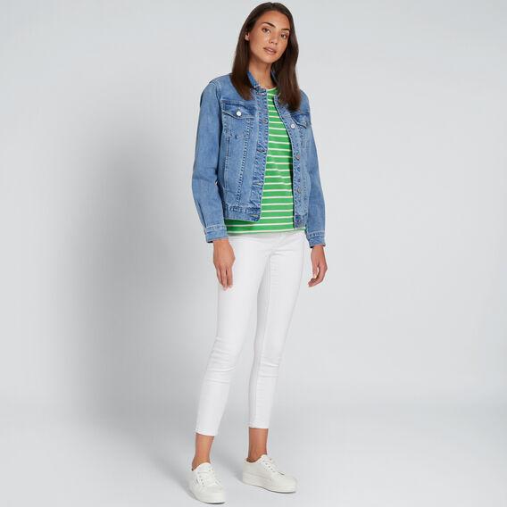 Oversized Denim Jacket  CLASSIC DENIM  hi-res