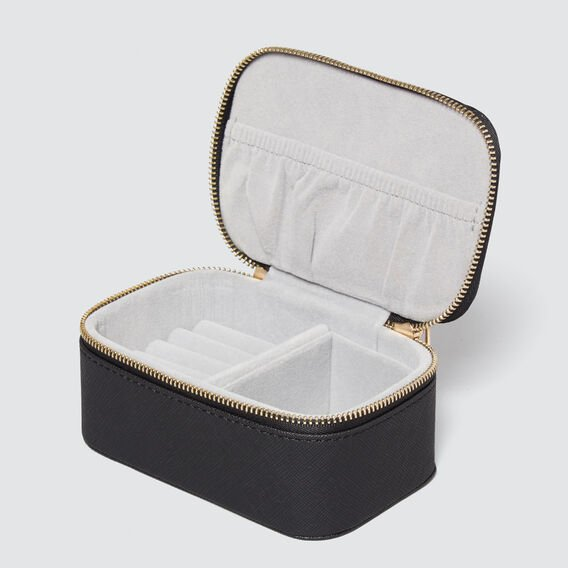 Mini Jewellery Case  BLACK  hi-res