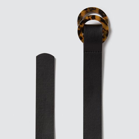 Tort Double Ring Belt  BLACK  hi-res