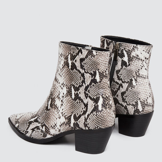 Angie Pointed Boot  SNAKE  hi-res