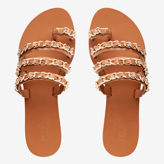 Emmy Chain Slide  TAN  hi-res