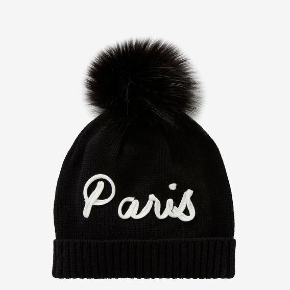 Paris Beanie  BLACK  hi-res