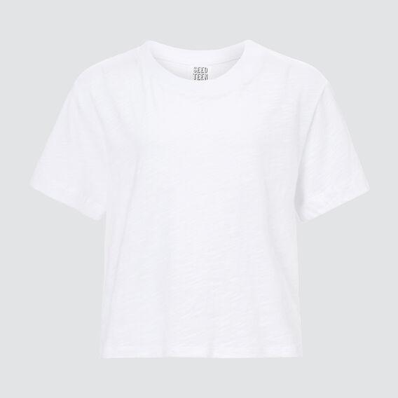 Basic Tee  WHITE  hi-res