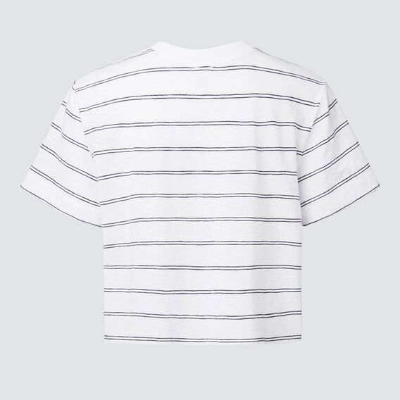 Basic Tee  WHITE/MIDNIGHT  hi-res