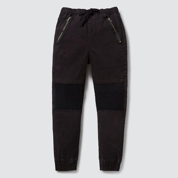Patch Detail Cargo Pant  VINTAGE BLACK  hi-res