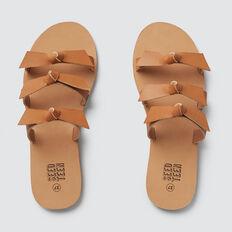 3 Strap Bow Sandal  TAN  hi-res