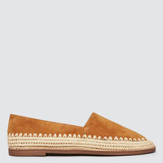 Elle Leather Flat  TOFFEE  hi-res