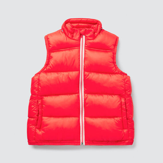 Puffa Vest  FIRE ENGINE RED  hi-res