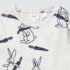 Bunny Yardage Pyjamas  CLOUDY MARLE  hi-res