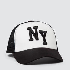 New York Cap  WHITE  hi-res