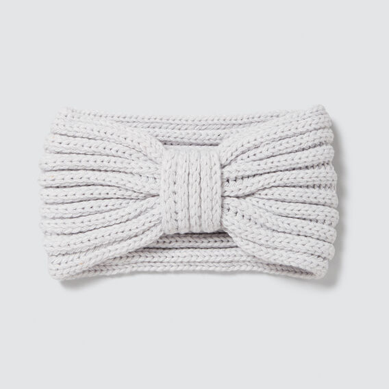 Knitted Turban  GREY  hi-res