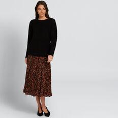 Circular Skirt  FLORAL  hi-res