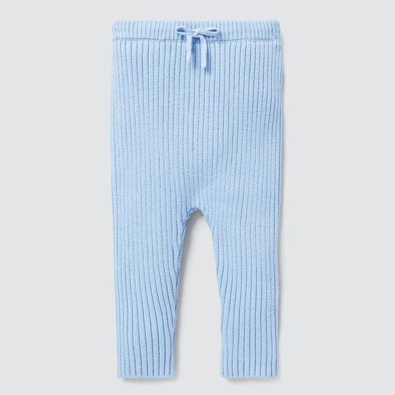Rib Knit Pant  DUSK BLUE  hi-res