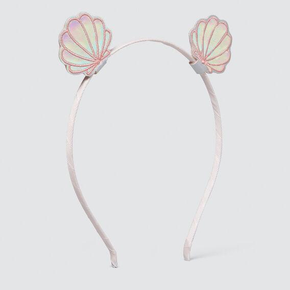 Clam Shell Headband  SILVER  hi-res