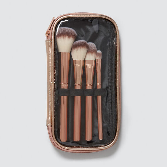 Brush Set Pouch  ROSE GOLD  hi-res