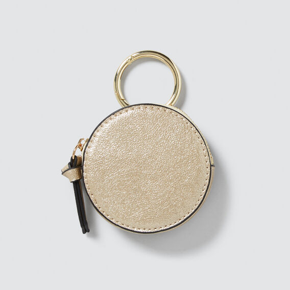 Purse Keyring  GOLD  hi-res