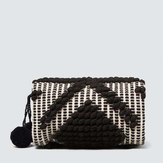 Holiday Cosmetic Bag  BLACK  hi-res