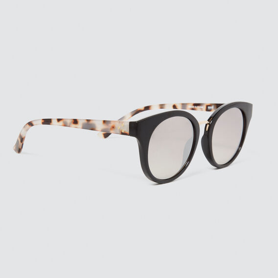 Darcy Cats Eye Sunglasses  BLACK  hi-res