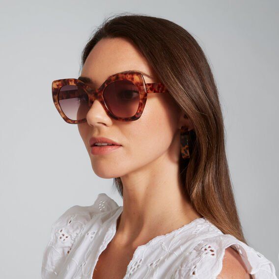 Emma Fashion Sunglasses  GOLDEN TORT  hi-res