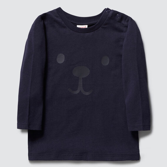 Bear Long Sleeve Tee  MIDNIGHT BLUE  hi-res