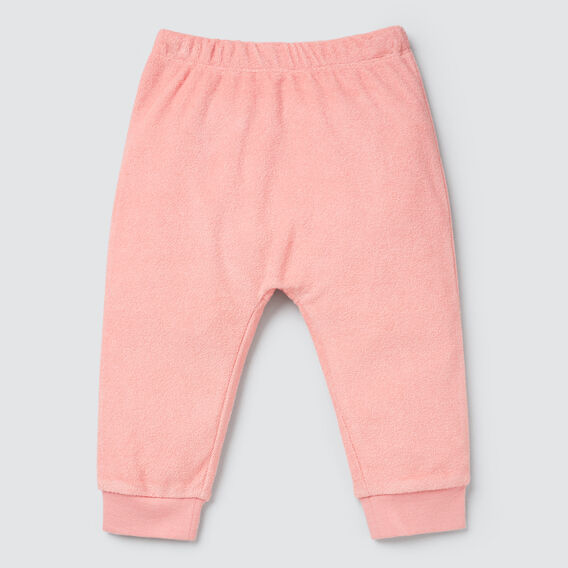 Novelty Bum Terry Trackie  DUSTY PINK  hi-res