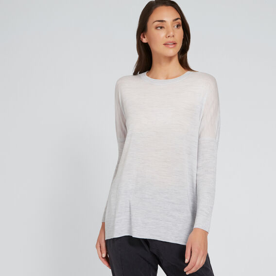 Babywool Comfy Sweater  LIGHT ASH MARLE  hi-res