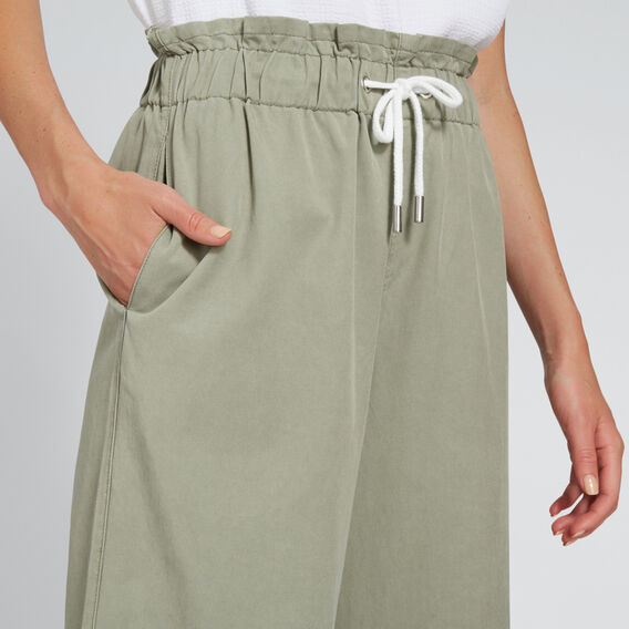 Paperbag Pant  WASHED OLIVE  hi-res