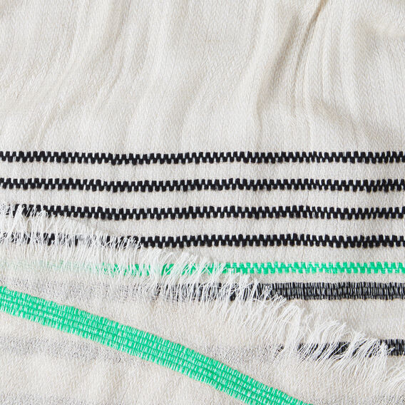 Textured Stripe Scarf  MULTI  hi-res