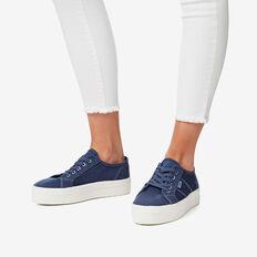 Billie Flatform Sneaker  NAVY  hi-res