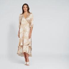 Asymmetric Floral Dress  FLORAL  hi-res