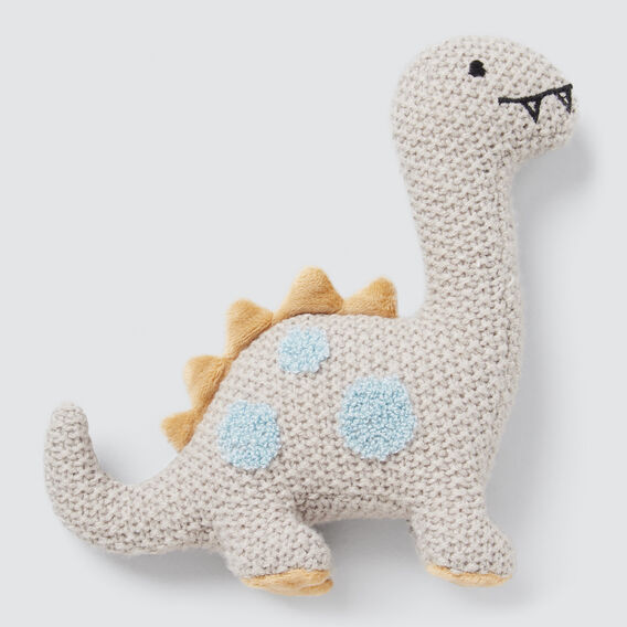 Dino Rattle  GREY  hi-res