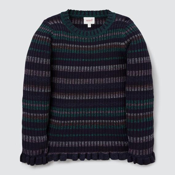 Lurex Rib Sweater  MULTI  hi-res