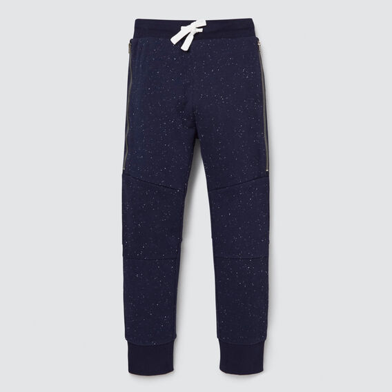 Zip Panel Trackie  MIDNIGHT SPECKLE  hi-res