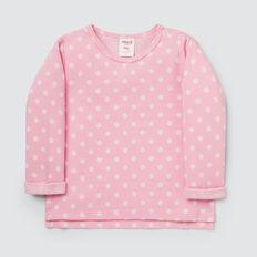 Spot Knit Tee  ICE PINK  hi-res