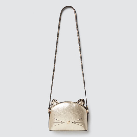 Metallic Cat Bag  GOLD  hi-res